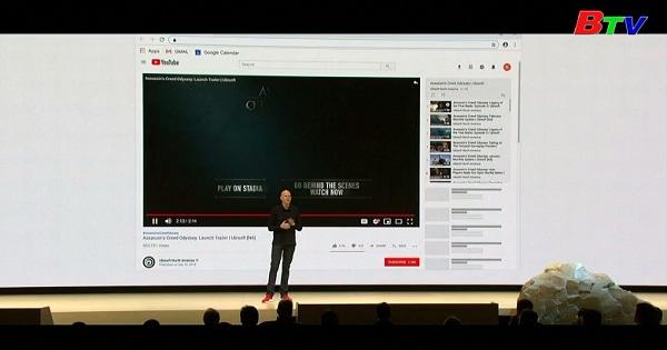 Google ra mắt nền tảng chơi Game Stadi