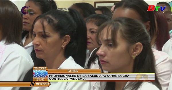 Cuba cử 53 chuyên gia y tế tới giúp Itali