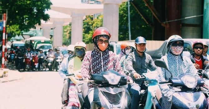 Nắng nóng ở Bắc Bộ, từ Thanh Hóa đến Thừa Thiên Huế