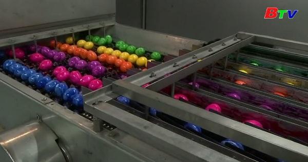 Tô màu cho những quả trứng phục sinh