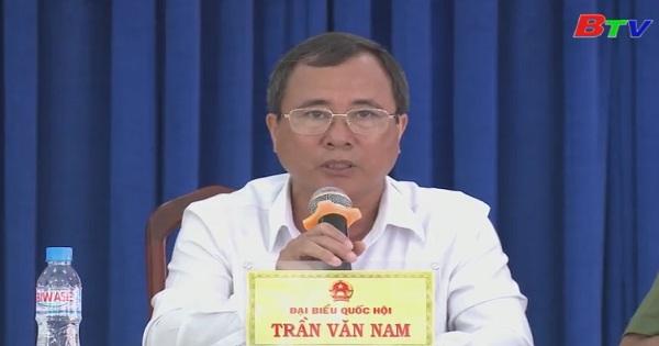 Các hoạt động tiếp xúc cử tri của đại biểu quốc hội tỉnh Bình Dương