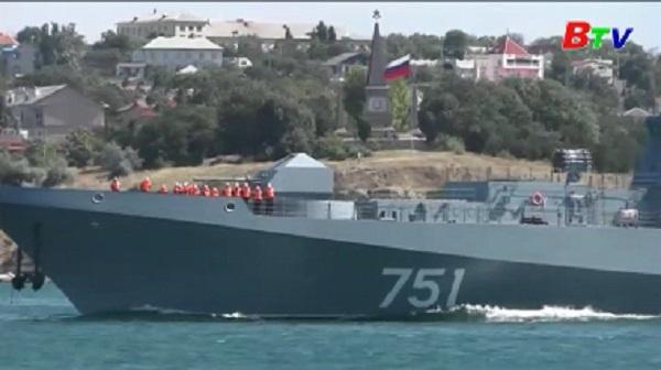 Hải quân Nga tăng cường hiện diện trên đại dương thế giới