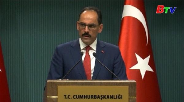 Căng thẳng giữa Thổ Nhĩ Kỳ và Đức tiếp tục leo thang