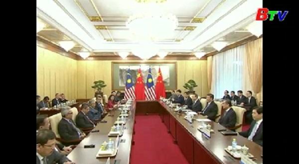Trung Quốc và Malaysia cam kết đẩy mạnh hợp tác hữu nghị