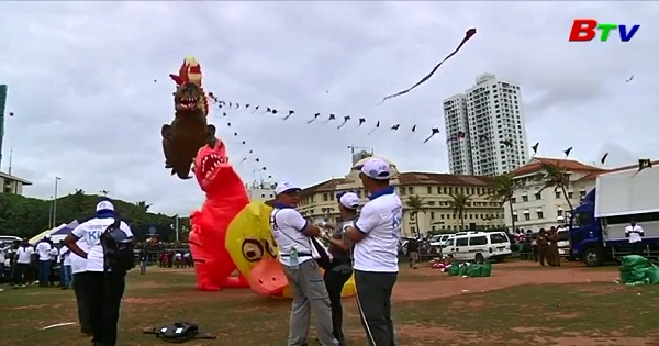 SRI LANKA: Lễ hội diều quốc tế Derana đầy màu sắc