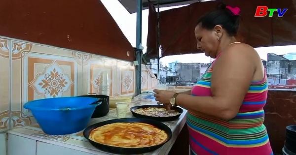 CuBa: Bùng nổ món bánh Pizza ở Thủ Đô Habana