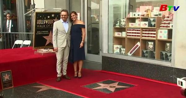 Nữ diễn viên Jennifer Garner nhận sao trên đại lộ danh vọng