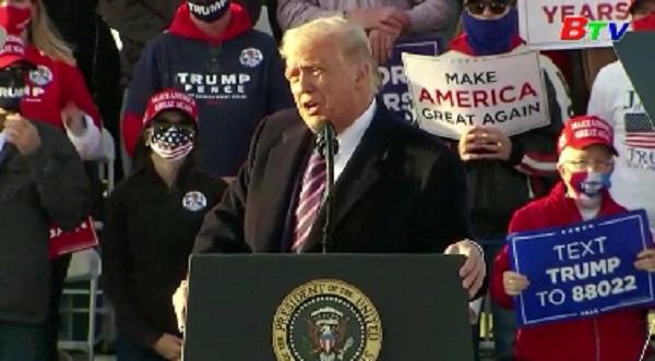 Tổng thống Trump lạc quan về chiến thắng tại bang Virginia