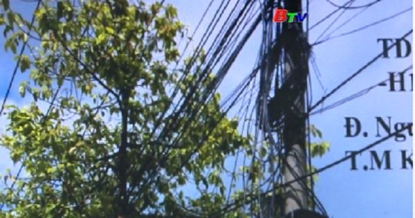 Phòng ngừa tai nạn điện mùa mưa từ các mạng nhện viễn thông