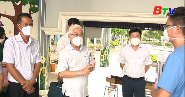 Bí thư Tỉnh Ủy thăm và làm việc tại thành phố Thuận An