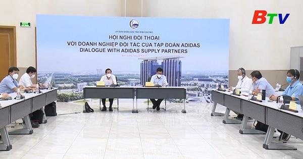 Đối thoại với doanh nghiệp đối tác của Tập đoàn ADIDAS