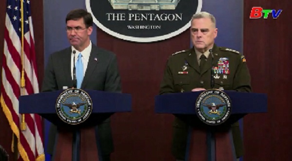 Mỹ giữ nguyên kế hoạch rút quân khỏi Syria
