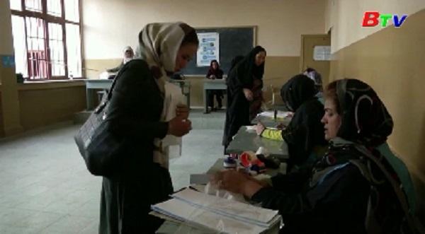 Afghanistan hoãn công bố kết quả sơ bộ cuộc bầu cử tổng thống