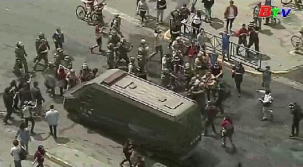 Chile ban bố lệnh giới nghiêm mới tại thủ đô Santiago