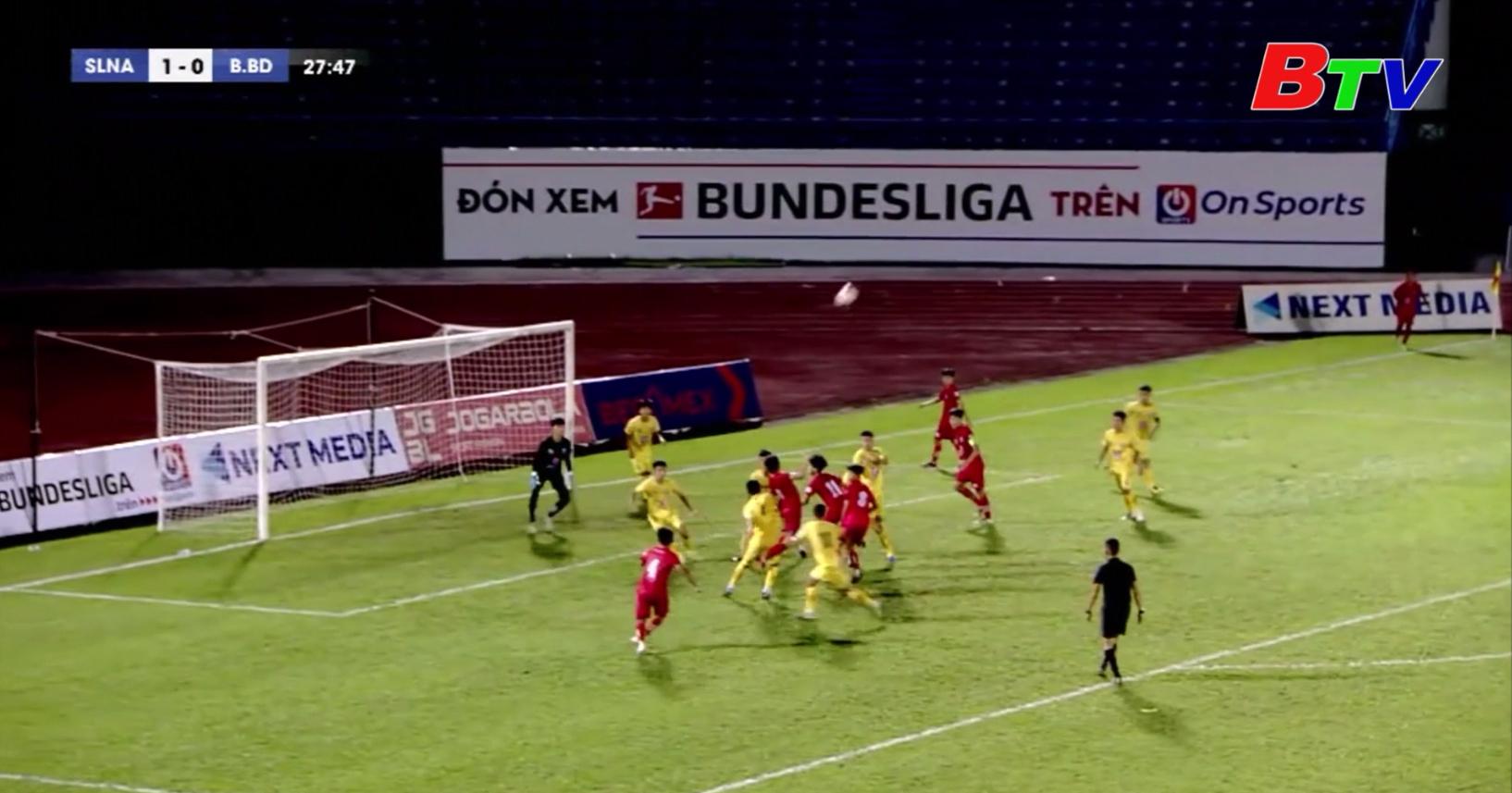Vòng chung kết Giải bóng đá vô địch U15 Quốc gia - Next Media 2020 – Lượt 2 bảng A
