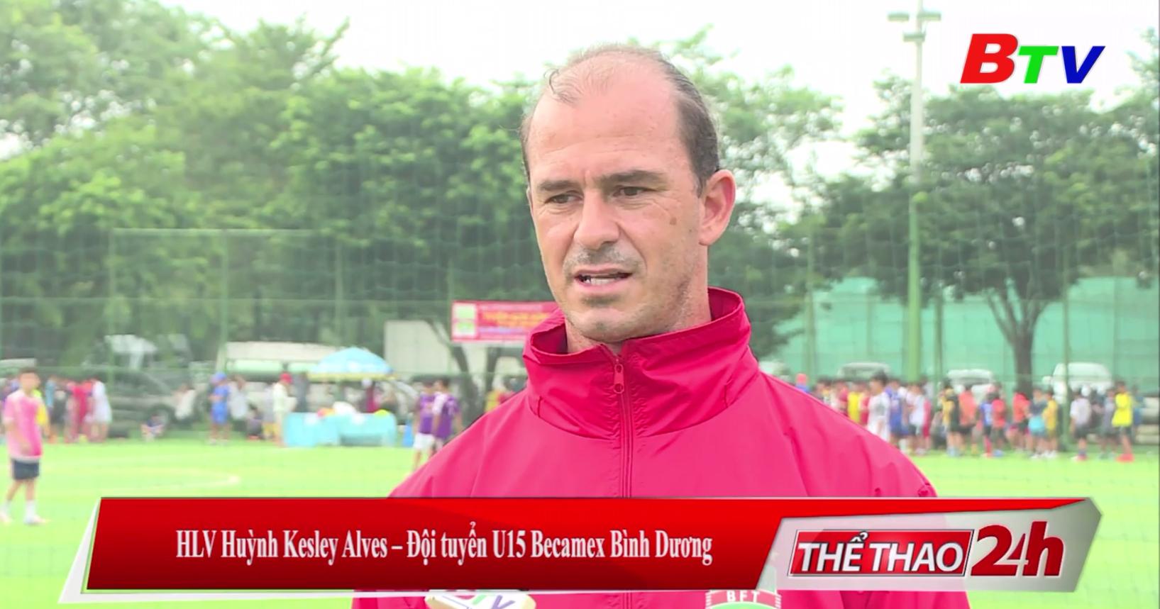 Huỳnh Kesley Alves và mối duyên cùng bóng đá Bình Dương