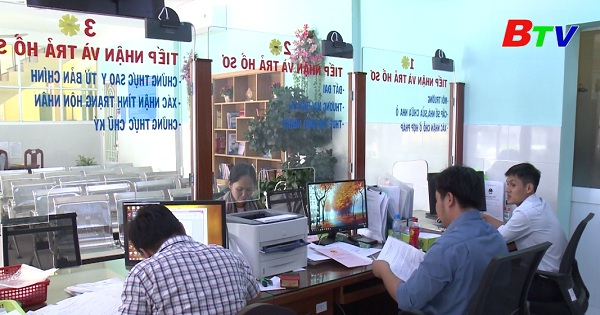 Thuận An - Nhiều kết quả khả quan trong công tác cải cách hành chính