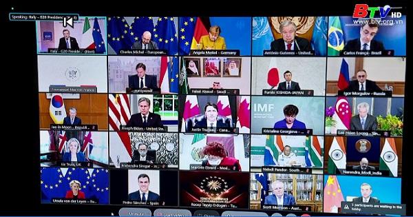 Một số nhà lãnh đạo G20 dự kiến không trực tiếp tham dự Hội nghị Thượng đỉnh Rome