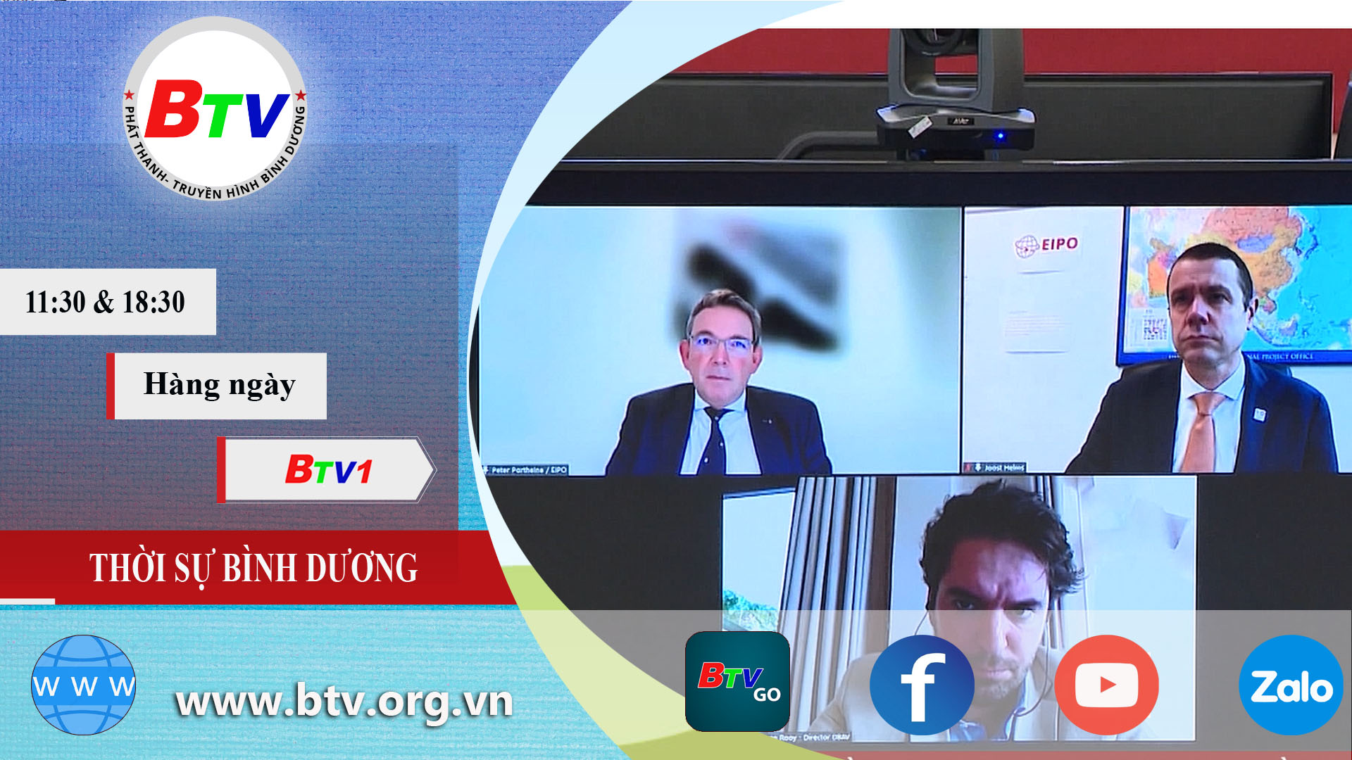 Bình Dương tổ chức Hội nghị trực tuyến về thành phố thông minh