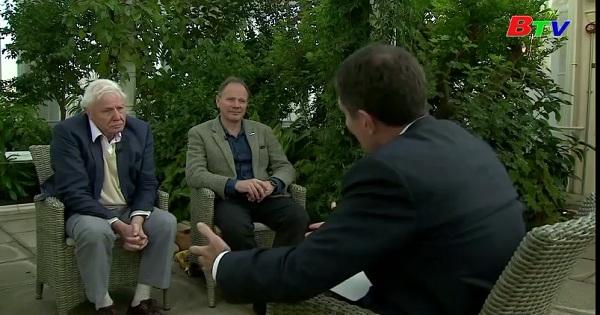 Nhà tự nhiên học David Attenborough chia sẽ về vấn đề rác thải nhựa