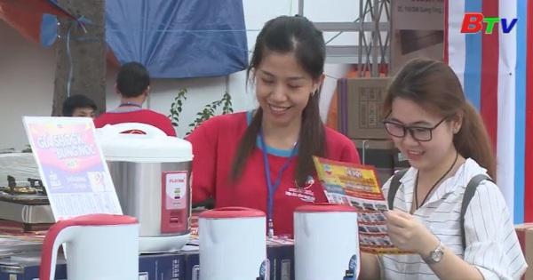 Khai mạc hội chợ mua sắm khuyến mại và ẩm thực Bình Dương năm 2017