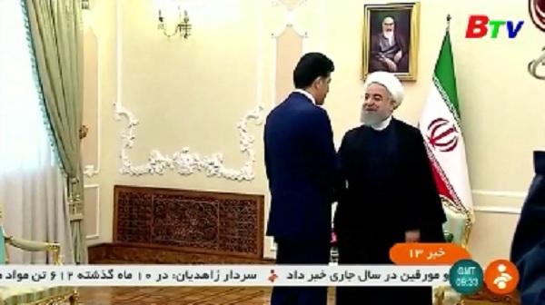 Iran cam kết ủng hộ sự toàn vẹn của Iraq