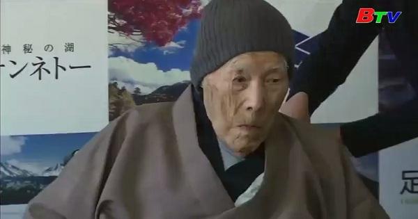 Cụ ông cao tuổi nhất thế giới qua đời