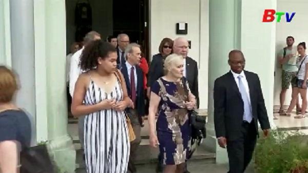 Đoàn nghị sĩ Mỹ tới Cuba để thúc đẩy quan hệ song phương