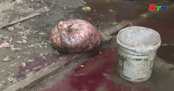 Dĩ An phát hiện một hộ dân có chứa thịt gia súc nhiễm bệnh