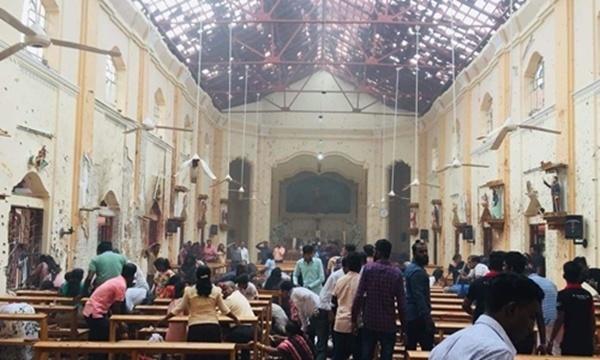 Sri Lanka hứng chịu 8 vụ nổ liên tiếp, 207 người thiệt mạng