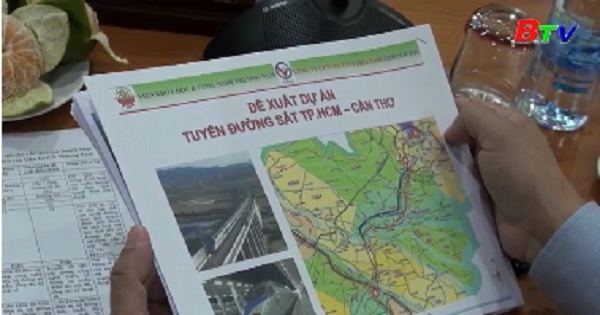 Dự án tuyến đường sắt Tp.Hồ Chí Minh - Cần Thơ