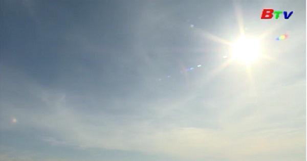 Nắng nóng trên diện rộng còn tiếp tục kéo dài
