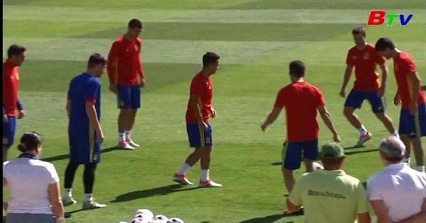 HLV Lopetegui công bố danh sách tuyển Tây Ban Nha