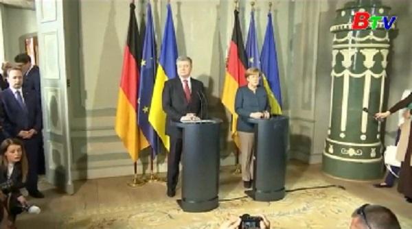 Đức, Ukraine nhất trí tái khởi động thỏa thuận Minks