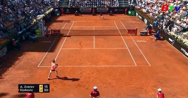 Alexander Zverev đăng quang giải quần vợt quốc tế d'Italia 2017