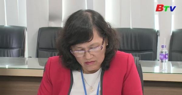 Đoàn kiểm tra Tỉnh ủy Bình Dương làm việc với Sở Giáo dục và Đào tạo tỉnh