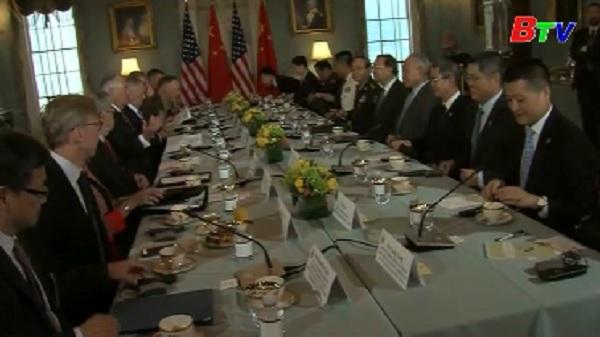 Trung Quốc và Mỹ đối thoại an ninh, ngoại giao