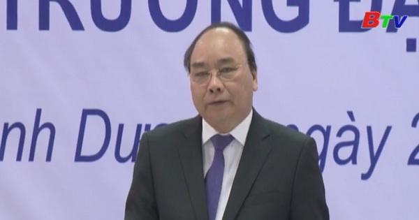 Thủ tướng Chính phủ thăm và làm việc tại Đại học Việt Đức