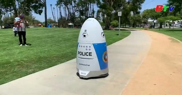 Cảnh sát California triển khai Robot chống tội phạm