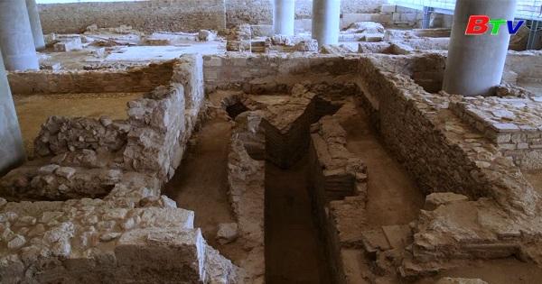 Hy Lạp phát hiện một khu phố cổ bên dưới bảo tàng Acropolis