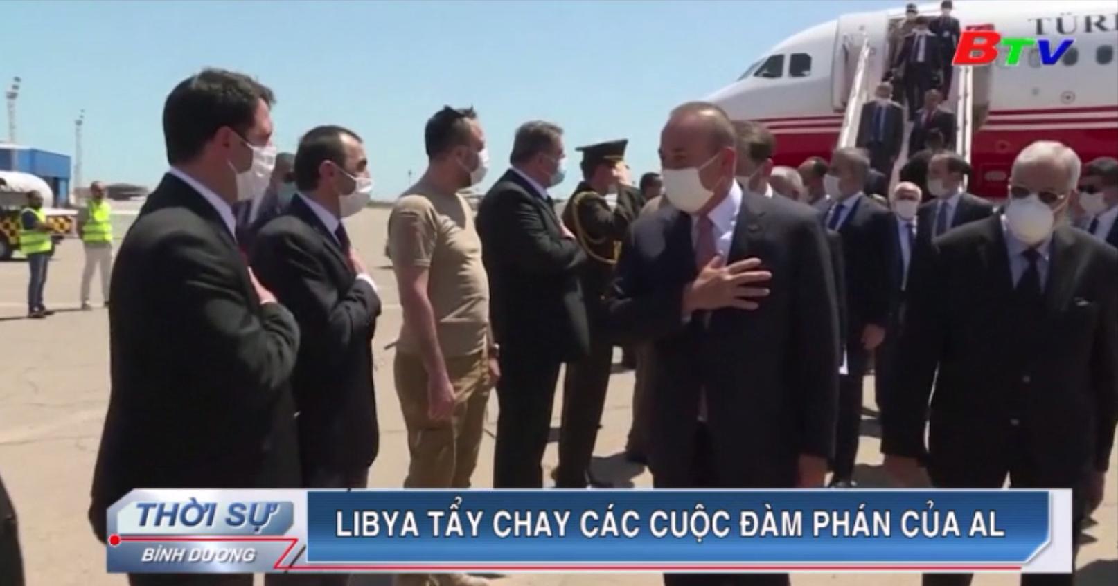 Libya tẩy chay các cuộc đàm phán của AL