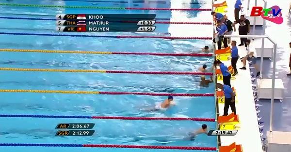 Ánh Viên tiếp tục chinh phục các mục tiêu ở môn bơi lội  tại Sea Games 29