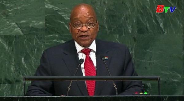 Tổng thống Nam Phi kêu gọi thực thi Hiệp định Paris về biến đổi khí hậu