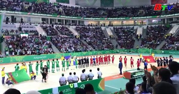 Lượt trận thứ 4 Bảng A AIMAG 5 - Đội tuyển Futsal  VN 1-0  Turkmenistan