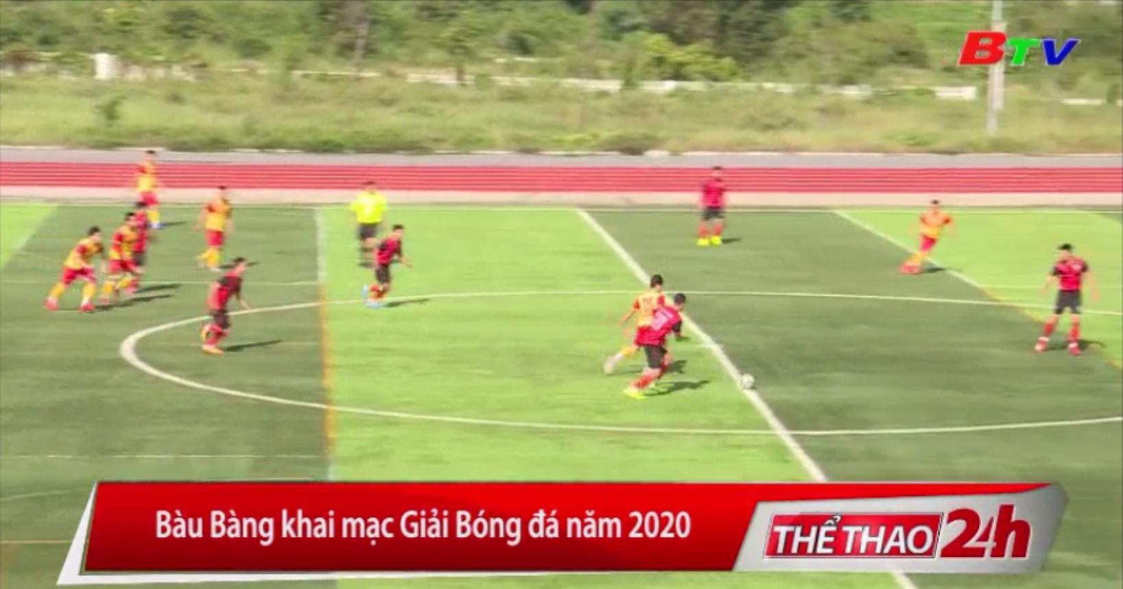 Bàu Bàng khai mạc Giải Bóng đá năm 2020