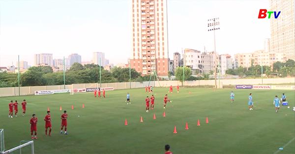 Đội tuyển Việt Nam quyết tâm giành điểm trước Trung Quốc và Oman