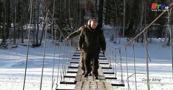 Khám phá Siberia hoang dã theo chân tổng thống Nga