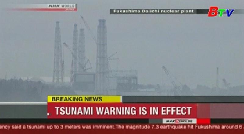 Động đất, sóng thần tại Nhật Bản
