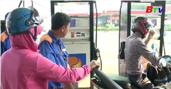 Giá xăng dầu đồng loạt giảm
