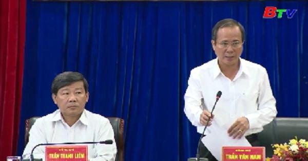 Hội nghị Ban Chấp hành Đảng bộ tỉnh Bình Dương lần thứ 21 mở rộng